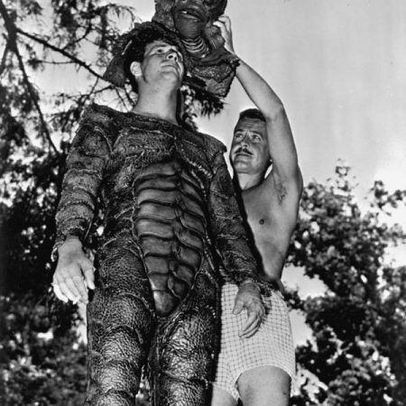 Ricou Browning becoming the creature, Wakulla Springs, ca. 1953