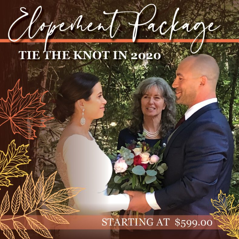 wakulla elopement packages promo